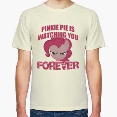 Футболка Пинки Пай наблюдает за тобой