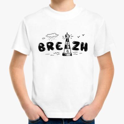 Детская футболка Бретань