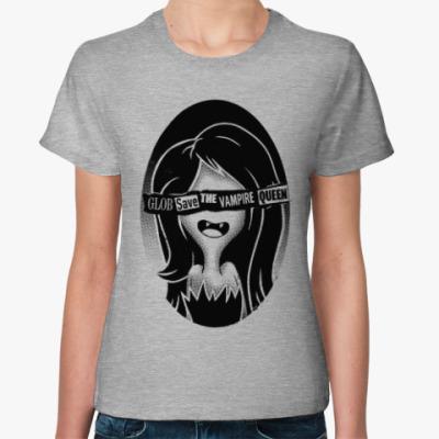 Женская футболка Марси - королева вампиров