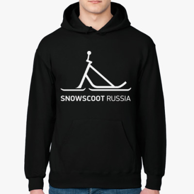 Толстовка худи SnowScoot Russia