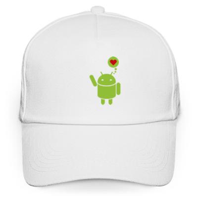 Кепка бейсболка Love Android