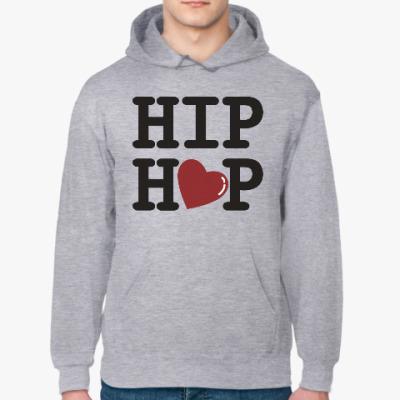Толстовка худи Люблю хип-хоп