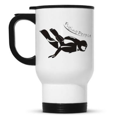 Кружка-термос Flying people
