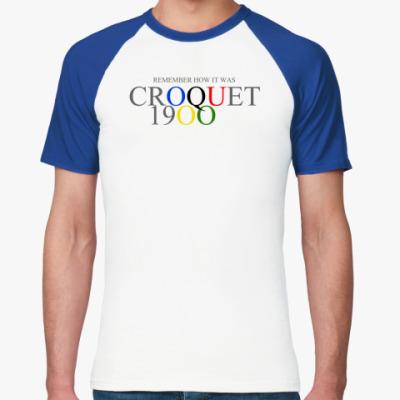 Футболка реглан Крокет 1900 ()