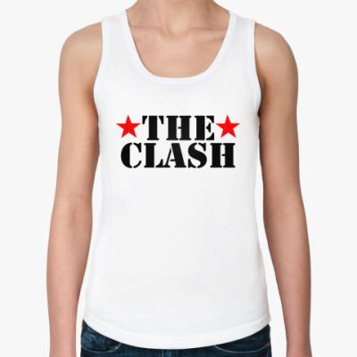 Женская майка The Clash