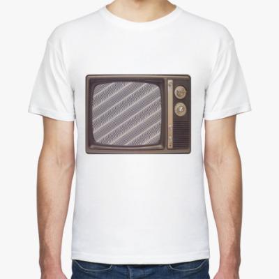Футболка старый телевизор