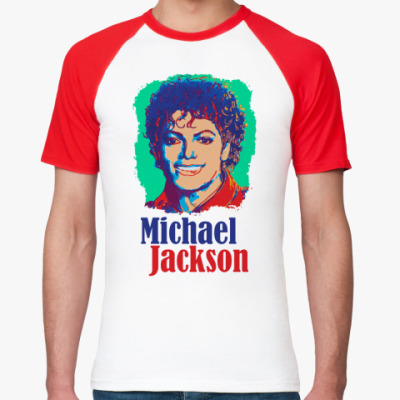 Футболка реглан MJ