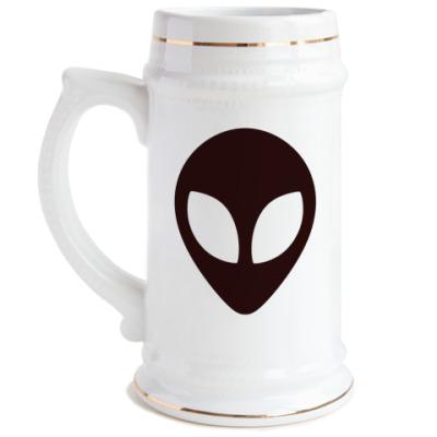 Пивная кружка Alien