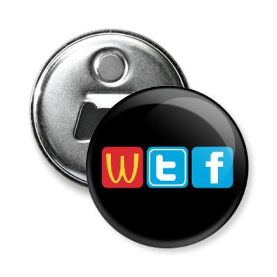 Магнит-открывашка WTF