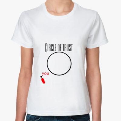 Классическая футболка Circle of Trust!