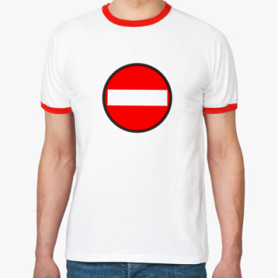 Футболка Ringer-T Stop