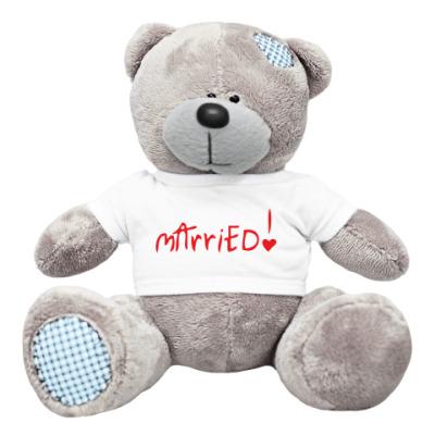 Плюшевый мишка Тедди Just Married