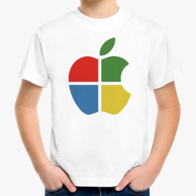 Детская футболка Яблоко Виндоус