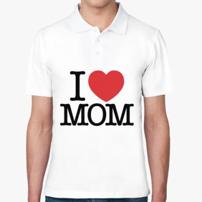 Рубашка поло Я Люблю Маму