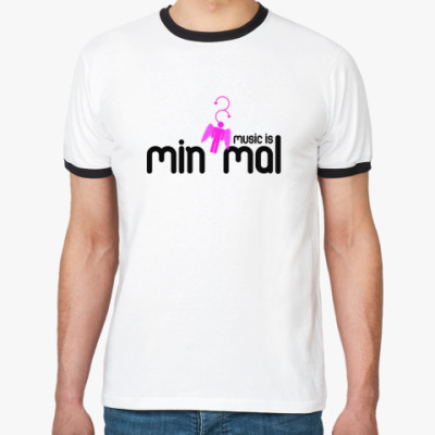 Футболка Ringer-T MINIMAL