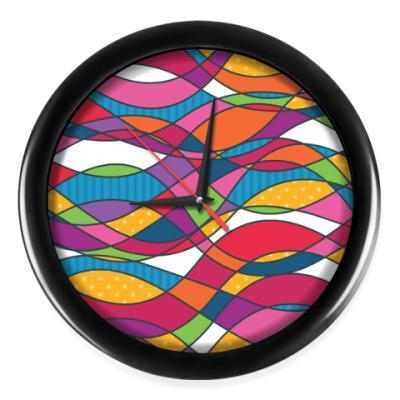 Настенные часы Геометрика Waves