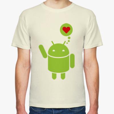 Футболка Love Android