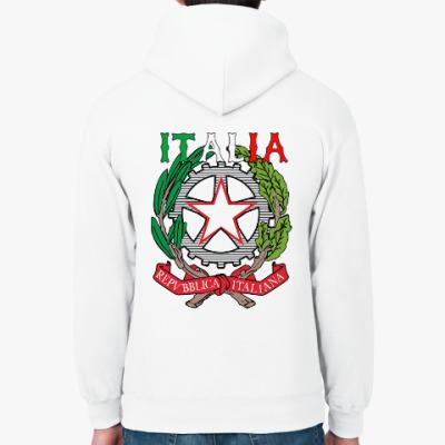 Толстовка худи Italia Prosto Bx (спина)