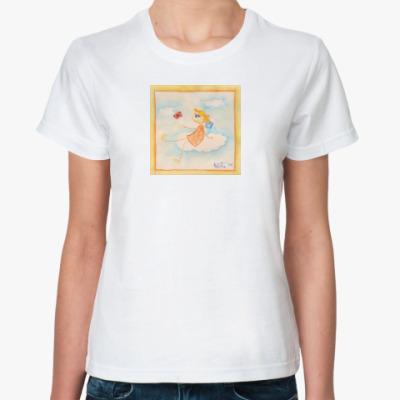 Классическая футболка  Ангелочек