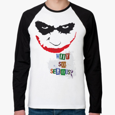 Футболка реглан с длинным рукавом Joker