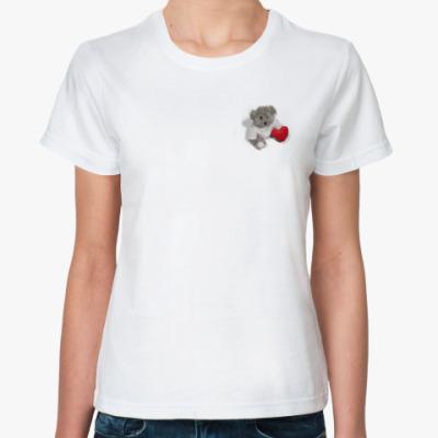 Классическая футболка  Teddy #1