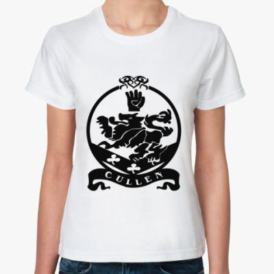 Классическая футболка Cullen emblem