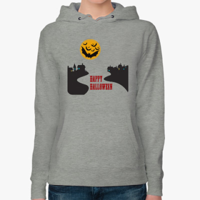 Женская толстовка худи Хеллоуин