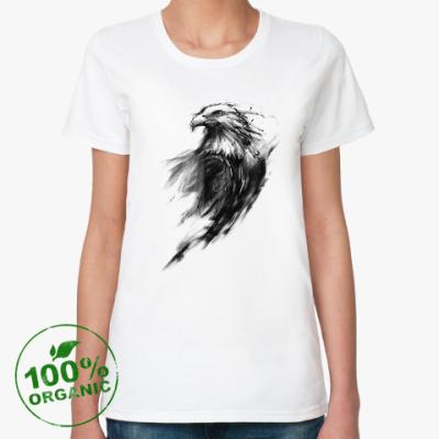Женская футболка из органик-хлопка Орёл