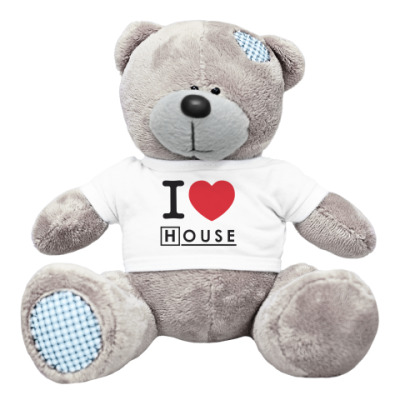 Плюшевый мишка Тедди I heart House Мишка