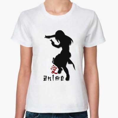 Классическая футболка I love anime