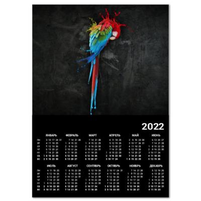 Календарь Попугай