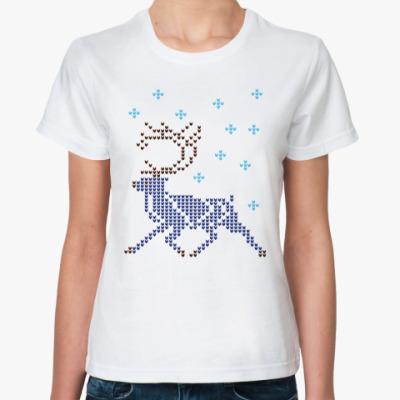 Классическая футболка Олень северный