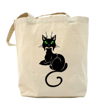 Сумка Зеленоглазая кошка