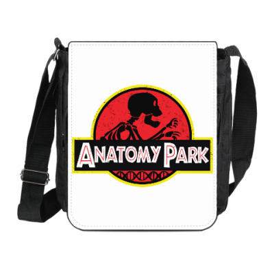 Сумка на плечо (мини-планшет) Anatomy Park