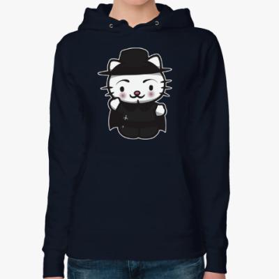 Женская толстовка худи Kitty Vendetta