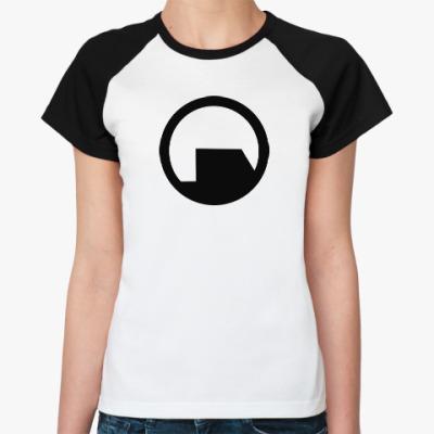 Женская футболка реглан Black Mesa