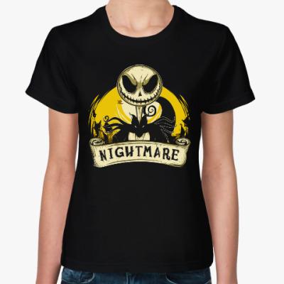 Женская футболка Ночной кошмар