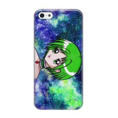 Чехол для iPhone 5/5s Space Anime Girl