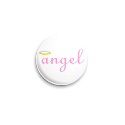 Значок 25мм Ангел