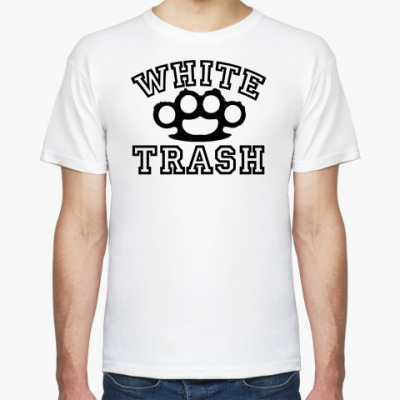 Футболка   White trash