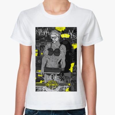 Классическая футболка Masha