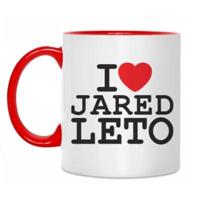 Кружка Я люблю Джареда Лето