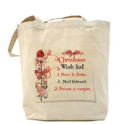Сумка Christmas wish list