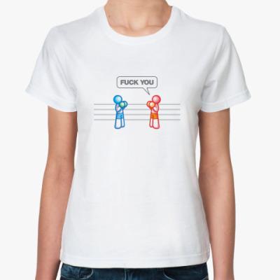 Классическая футболка  BOX