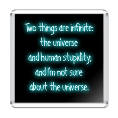 Магнит  infinite things