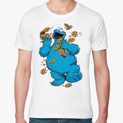 Футболка из органик-хлопка Cookie Monster
