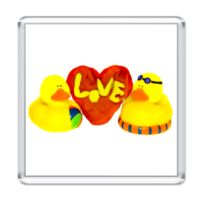 Магнит Любовь притягивает