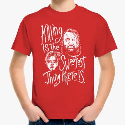 Детская футболка Игра престолов. Арья Старк