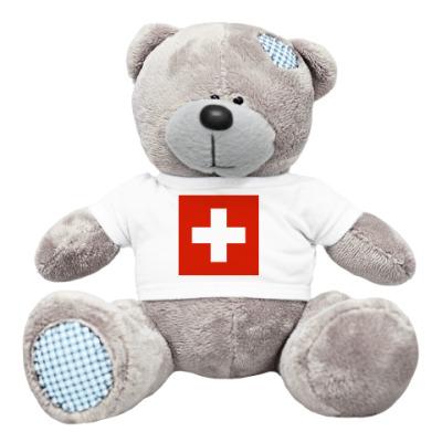 Плюшевый мишка Тедди Швейцария