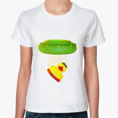 Классическая футболка Похитительница Уточек